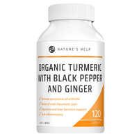 Organic Turmeric with Black Pepper and Ginger