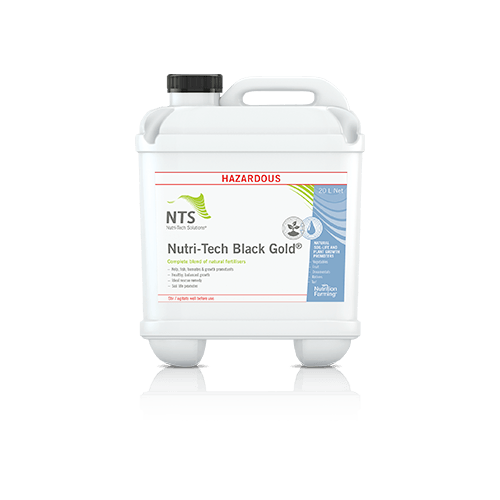 Black Gold™ (Nutri-Tech) - Liquid Fertiliser & soil conditioner (5 litre)
