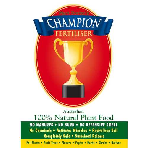 CHAMPION organic fertiliser pellets - 1.2kg