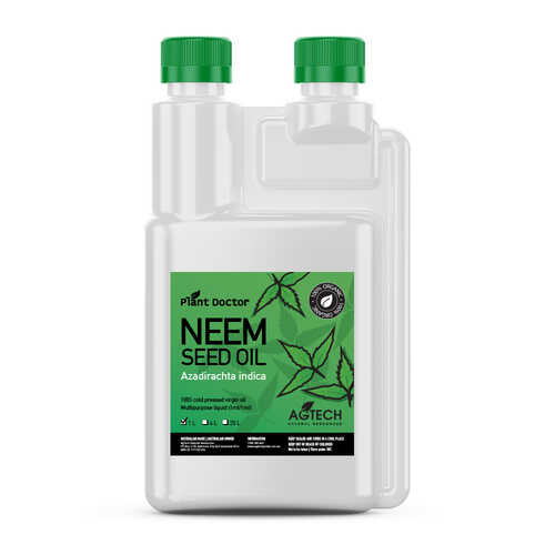 Neem Seed Oil - 100% Cold Pressed virgin oil [size: 1 Litre]