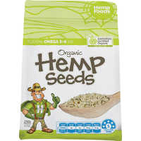 Australian Organic Hulled Hemp Seeds - CLEARANCE as Near Best Before