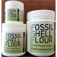 Fossil Shell Flour (Food Grade Diatomaceous Earth) Capsules