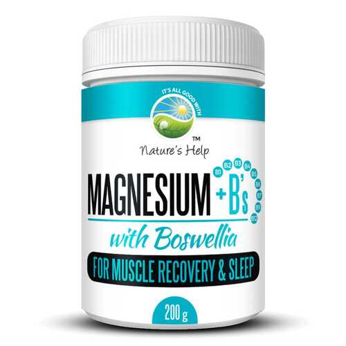 Magnesium + B's with Boswellia Powder - 200gm