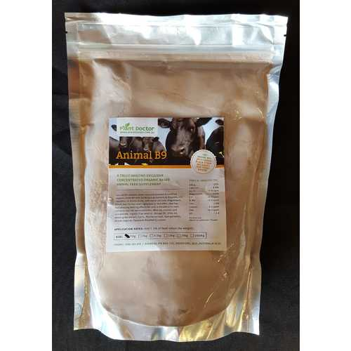 ANIMAL B9 Food Supplement - with Volcamin & Food Grade (D.E) & Supplements - 750g