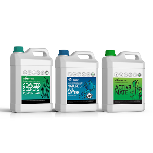 Medium value bundle – Liquids ONLY fertiliser for Lawn and garden